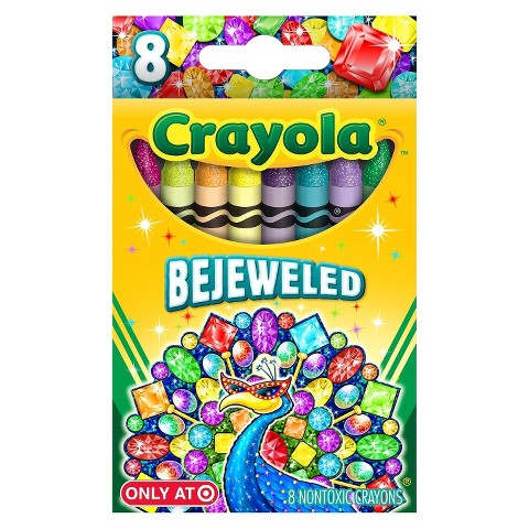 Crayola 8ct Pick Your Pack Crayons Bejeweled