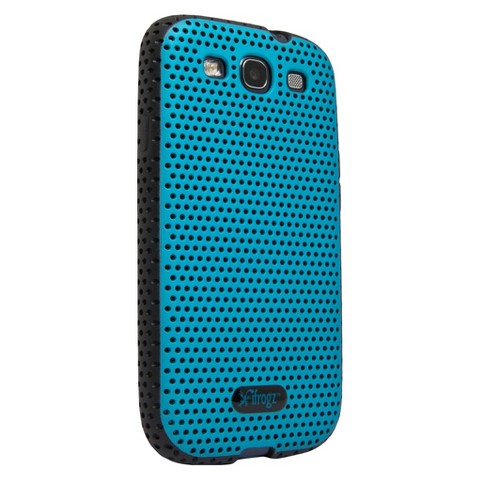 iFrogz Breeze Case for Galaxy S3 - Blue/Black (GS3-BZBLBK)