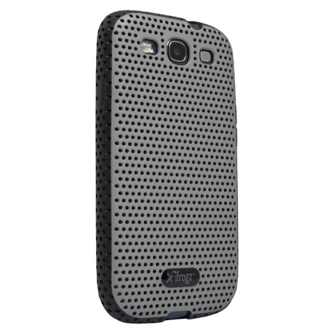 iFrogz Breeze Case for Galaxy S3 - Silver/Black (GS3-BZSLBK)