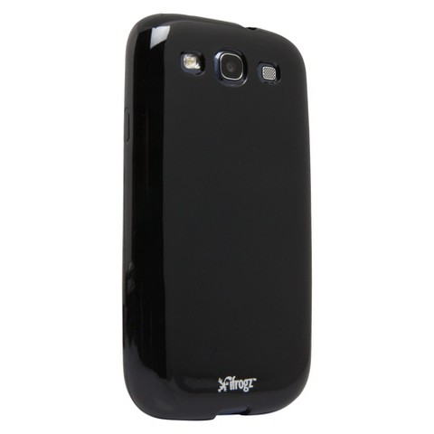 iFrogz Soft Gloss Case for Galaxy S3 - Black (GS3-SGBLK)