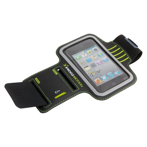 iFrogz Motion Armband for iPhone® - Black (IFZ-ARMBAND-BLK)