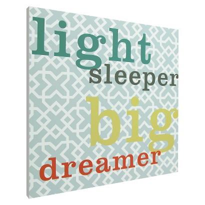 Light Sleeper Wall Art - Blue