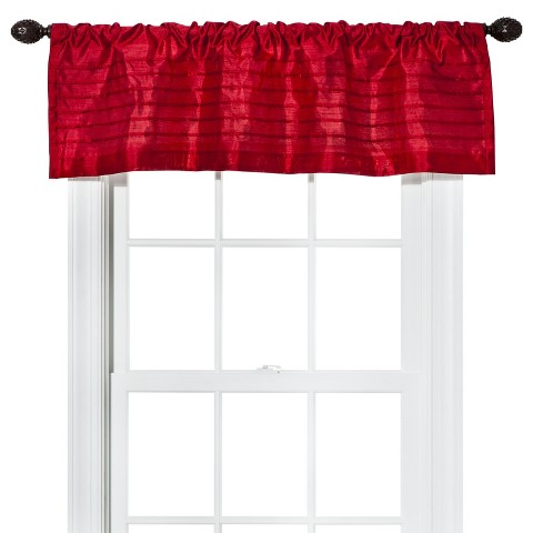 Threshold™ Faux Silk Color Update Valance