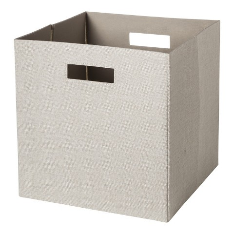 Threshold™ Decorative Fabric Cube Storage Bin product details page