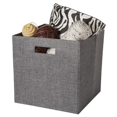 Threshold™ Fabric Cube - Grey