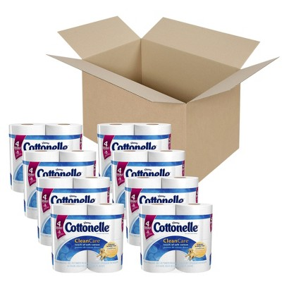 Cottonelle Clean Care Double Roll Toilet Paper 32 Rolls