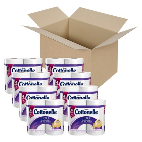 Cottonelle Ultra Comfort Care Double Roll Toilet Paper 32 Rolls