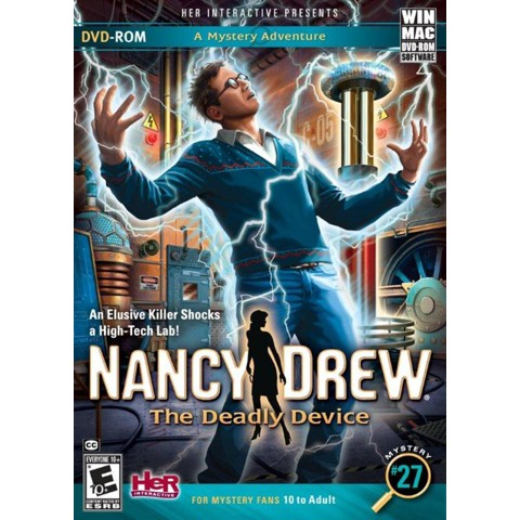 Nancy Drew: The Deadly Device (PC Games - Windows/MAC)
