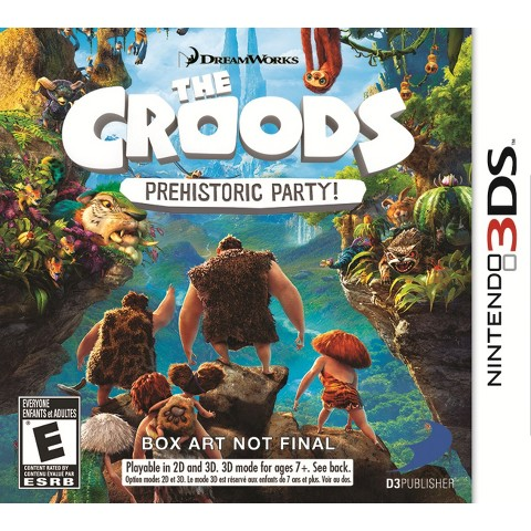 The Croods: Prehistoric Party! (Nintendo 3DS)