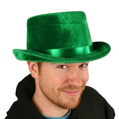 Adult Top Hat - Green