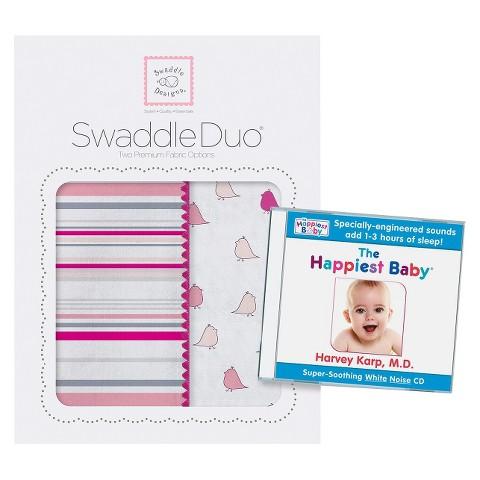 Swaddle Duo & Dr Karp CD Set