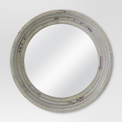 Threshold™  Porthole Mirror - Whitewash