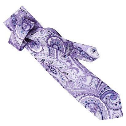Merona® Men's Paisley Print Lilac Tie