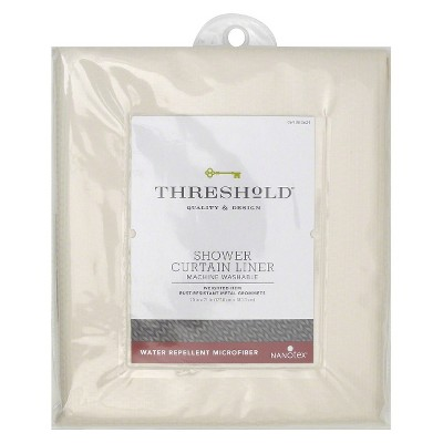 Threshold™ Shower Liner Home Microfiber Nanotex - Shell