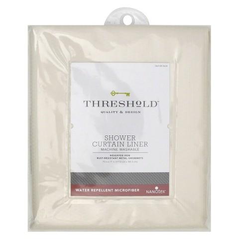 Threshold™ Shower Liner Home Microfiber Nanotex - Shell
