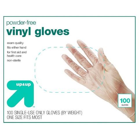 up&up Latex Free Vinyl Exam Gloves