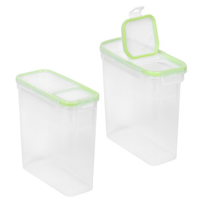 Snapware 2-Pack Cereal Container with Flip Lid