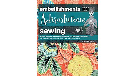 Embellishments For Adventurous Sewing Hardcover  Target