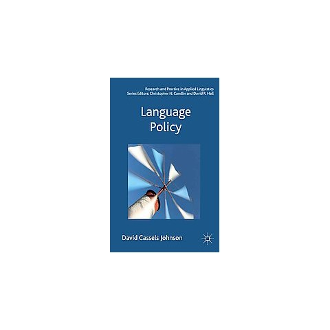 Language Policy (Hardcover)