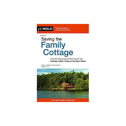 Saving the Family Cottage (Paperback)