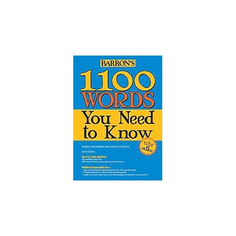 1100 Words You Need to Know (Paperback)