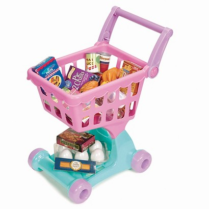 Play Circle Shopping Day Grocery Cart