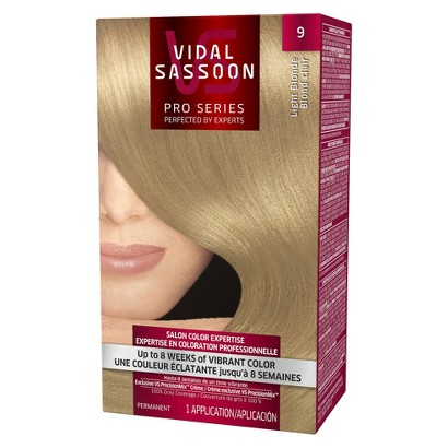 Vidal Sassoon Permanent Hair Color - Light Blonde (9)