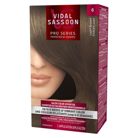 Vidal Sassoon Permanent Hair Color - Light Brown (6)
