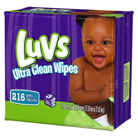 Luvs Ultra Clean Wipes 3X Refills - 216 Count