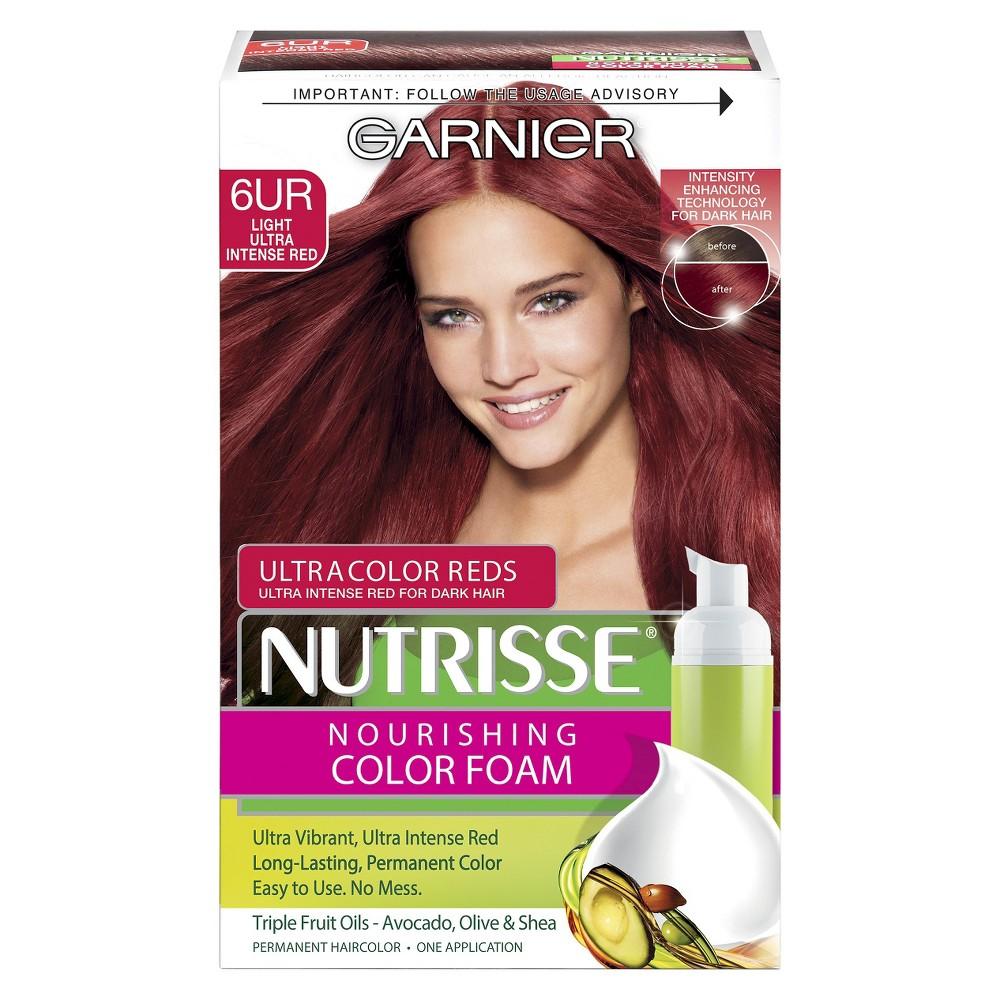 Upc 603084297351 Product Image For Garnier Nutrisse Nourishing Color Foam 6ur Light Ultra Intense Red
