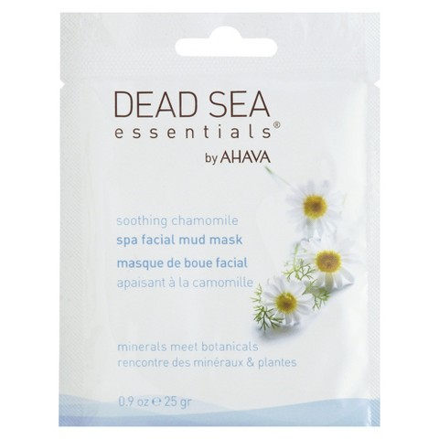 Dead Sea Essentials®  by AHAVA Soothing Chamomile Spa Facial Mud Mask Packette