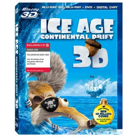 Ice Age: Continential Drift - (3D BD+BD+DVD+DC)
