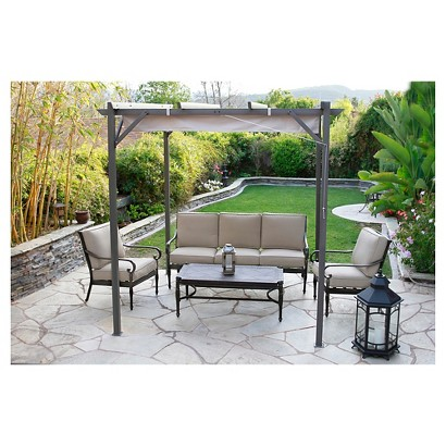 Kent Metal Patio Conversation Furniture Collection Tar