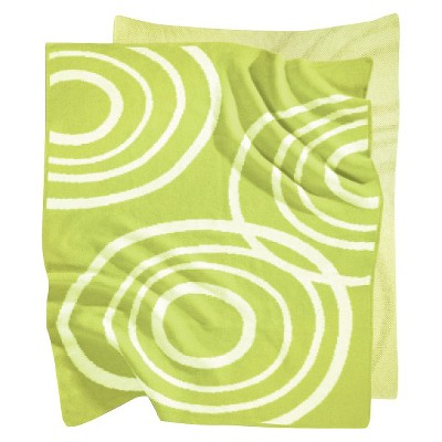 Nook Knitted Organic Cotton Blanket - Lawn