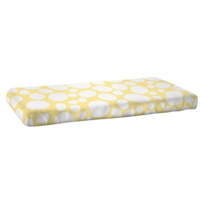 Nook Riverbed Fitted Crib Sheet - Daffodil