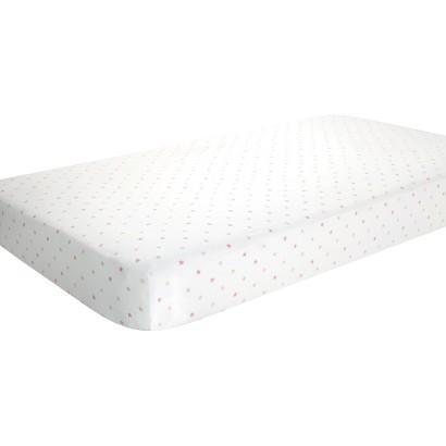Aden & Anais oh girl! 100% cotton muslin crib sheet