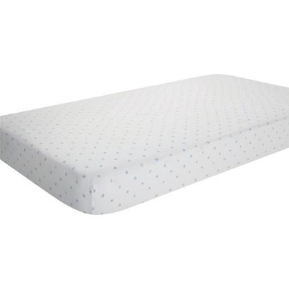 Aden & Anais oh boy! 100% cotton muslin crib sheet