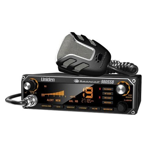 Uniden Bearcat 40 Channel CB Radio - Black (BEARCAT 980)