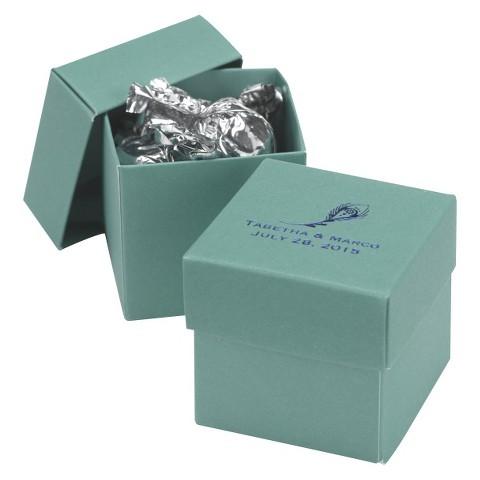 2-Piece Mint Favor Box Set