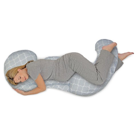 Boppy 3pc Custom-Fit Total Body Pregnancy Pillow with Back, Belly and ...