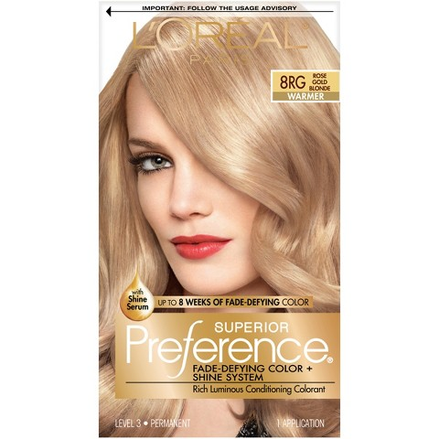 Oréal® Paris Superior Preference Fade-Defying Color + Shine System ...