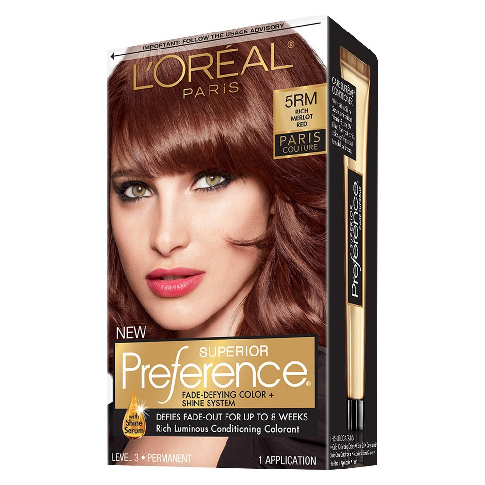 Merlot hair color - Loreal Red Hair Color Excellencetell