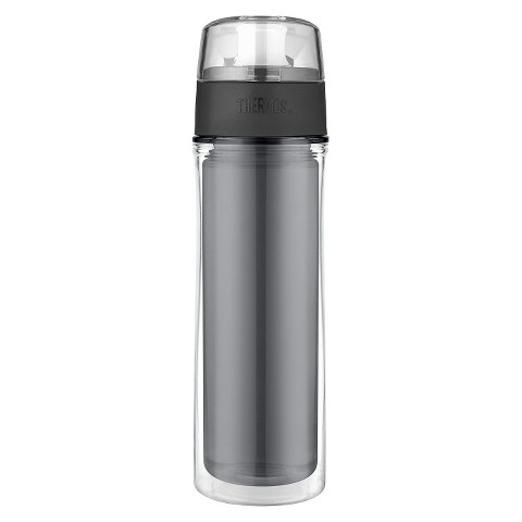 Thermos Double Wall Hydration Bottle - Smoke (18 oz)