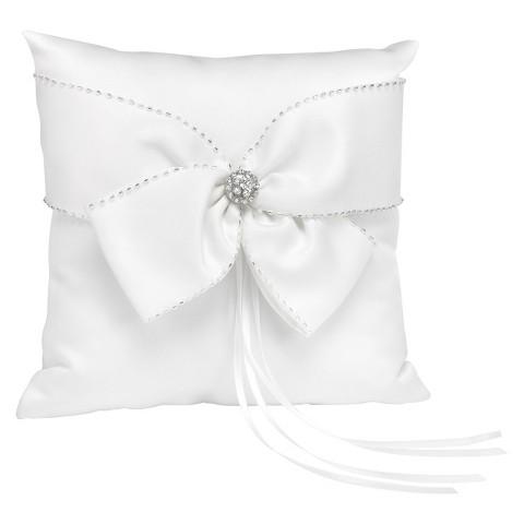 Sparking Sash Wedding Collection Ring Bearer Pillow