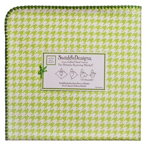 SwaddleDesign Ultimate Receiving Blanket - Puppytooth