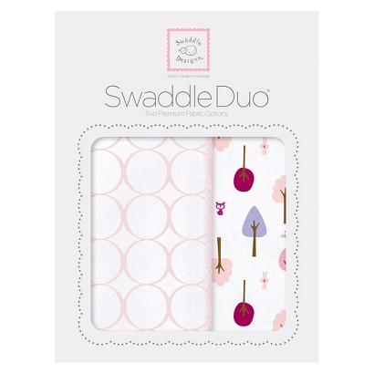 SwaddleDesign Cute & Calm Swaddle Duo 2pk