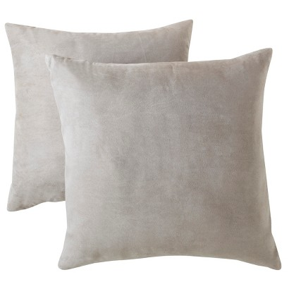 """Room Essentials® Suede Pillow 2-Pack (18x18"""")"""