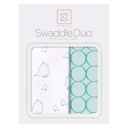 Chickies Swaddle Duo 2pk