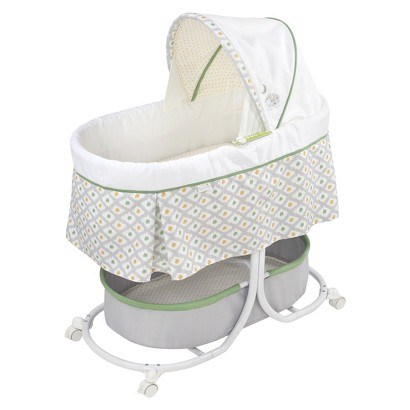 Summer Infant Soothe & Sleep Bassinet with Motion – Sweet Lamb