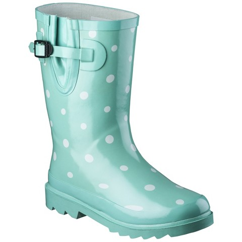 Girl's Novel Dot Rain Boots